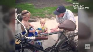 wwii vet and 3 year old are best friends