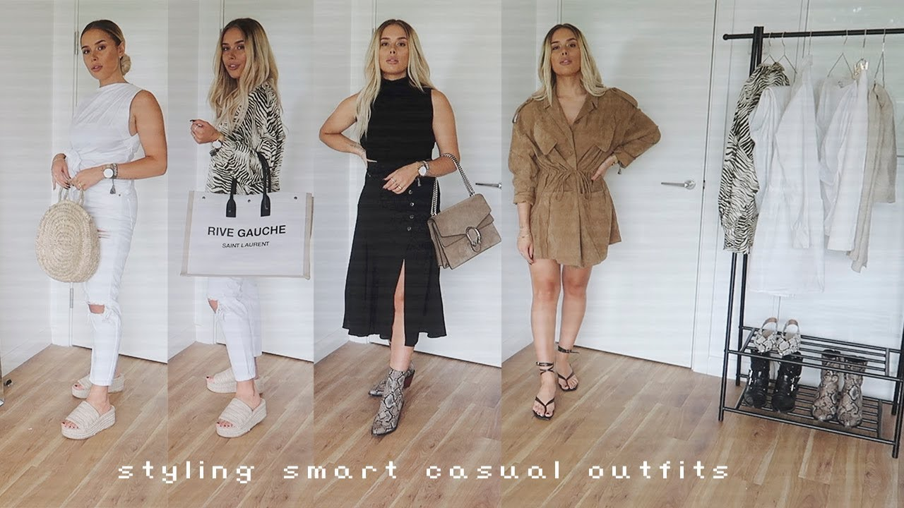 [VIDEO] - Styling Smart Casual Outfits | Hello October 4