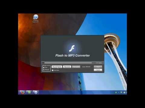 Amazing Flash to MP3 Converter Tutorial