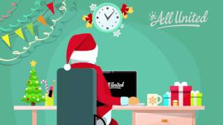 Kerstgroet AllUnited 2016