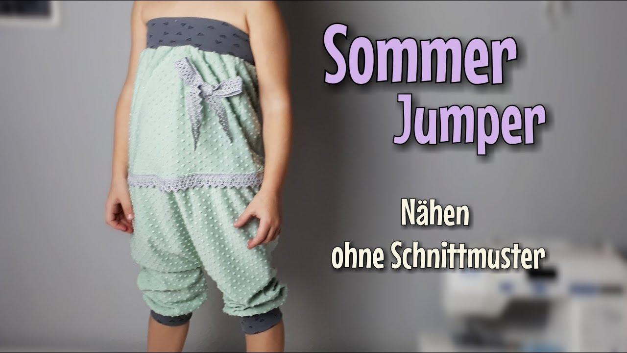 Jumper - Nähanleitung OHNE Schnittmuster - Für Anfänger - Nähtinchen ...
