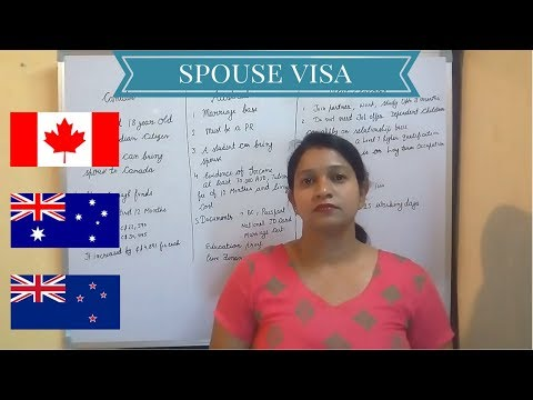 Canada, Australia & New Zealand Spouse Visa 2017: Requirements and Processing Time