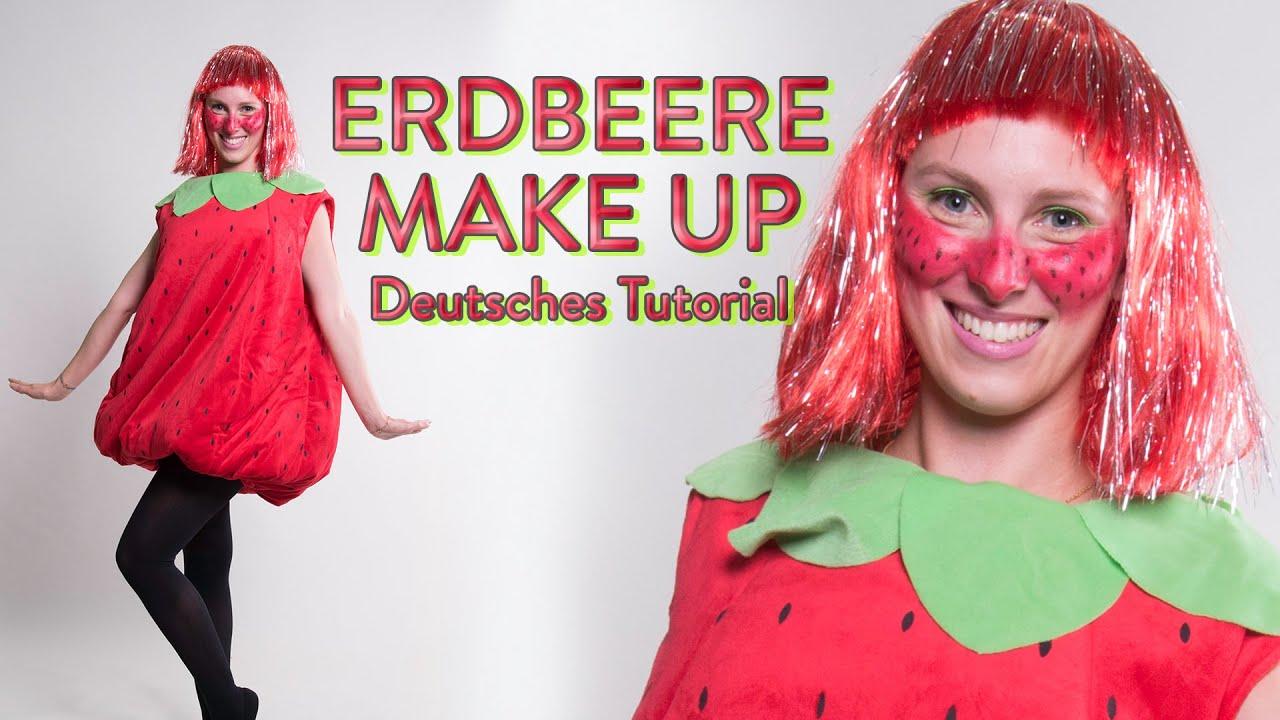 Erdbeere Schminkvideo Youtube