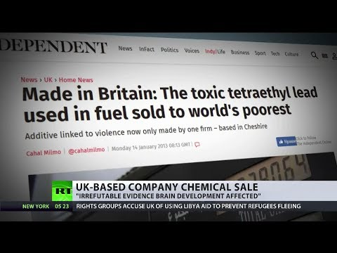 UK firm sells dangerous chemicals despite health warnings