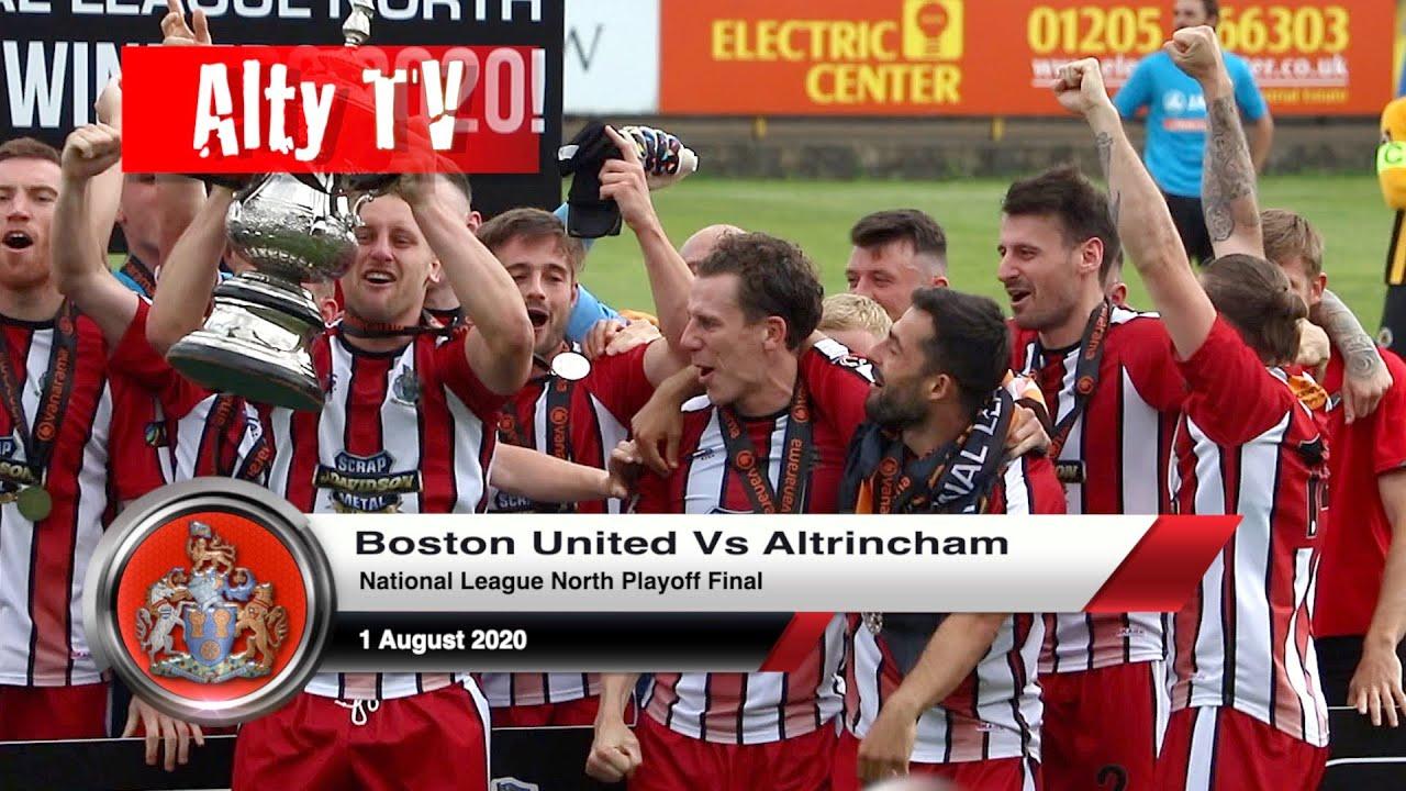 Boston United Vs Altrincham   National League North Playoff Final ...