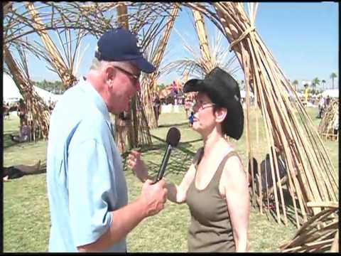 California's Gold  Huell Howser  Coachella Music Festival 2008