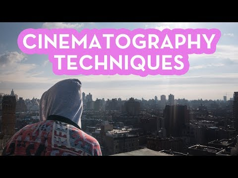 Cinematography Techniques | How to MASTER The Skill
