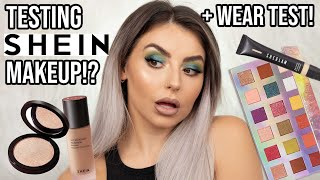 🤯 TESTING SHEIN / SHEGLAM MAKEUP! 🤯 FULL FACE OF FIRST IMPRESSIONS! REVIEW + WEAR TEST! [MAY 2020]