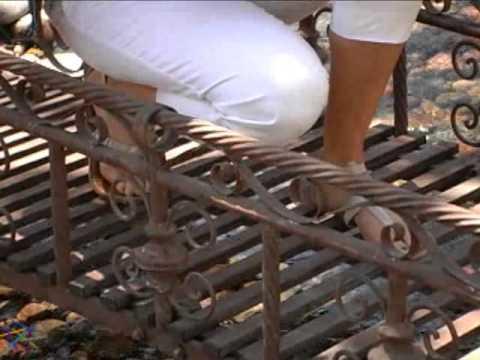 Windsor Metal Garden Bridge   Product Review Video