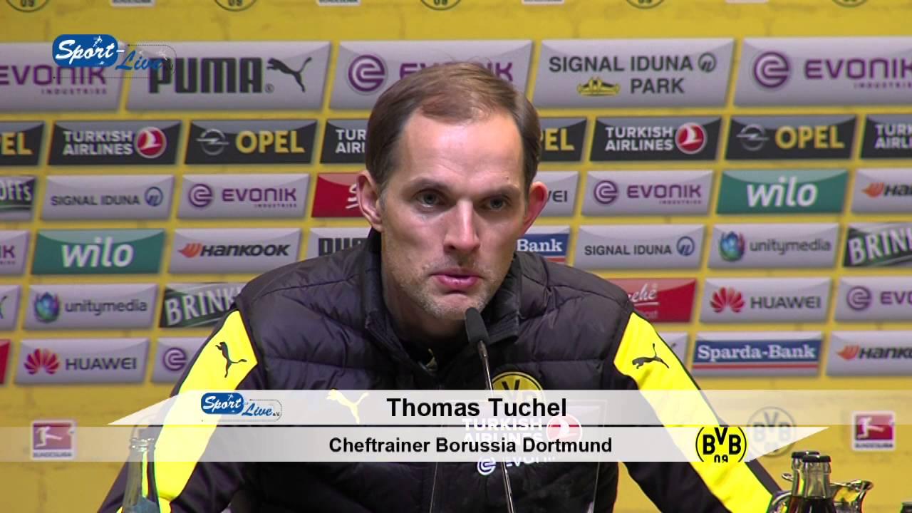 Borussia Dortmund - TSG 1899 Hoffenheim  3:1 - Pressekonferenz vom 28.02.16