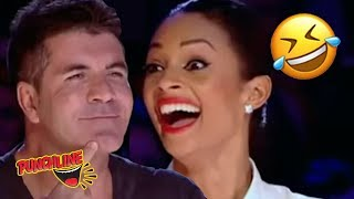 MUSICIAN is NATURALLY FUNNY! His Audition Has The Judges Lau...