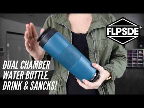 Video: How To Use Your Dual Chamber Water Bottle