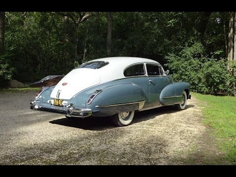 1942 Cadillac Series 62 2 Door Coupe Fastback & Engine Sound On My Car Story With Lou Costabile
