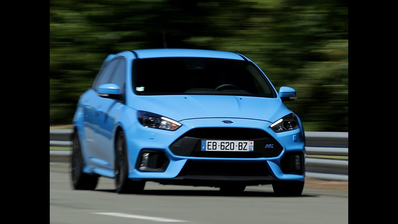 essai ford focus rs 2016 youtube. Black Bedroom Furniture Sets. Home Design Ideas