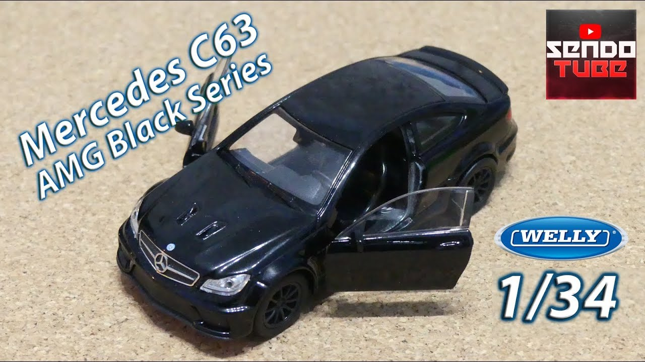 Welly 1:24 Mercedes Benz S-Class S500 Black Diecast Model Car New in Box