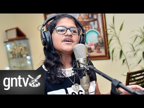 Meet the Indian girl who can sing in 80 languages