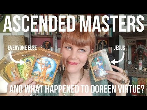 ASCENDED MASTERS  & unboxing Doreen Virtue: Christianity vs New Age