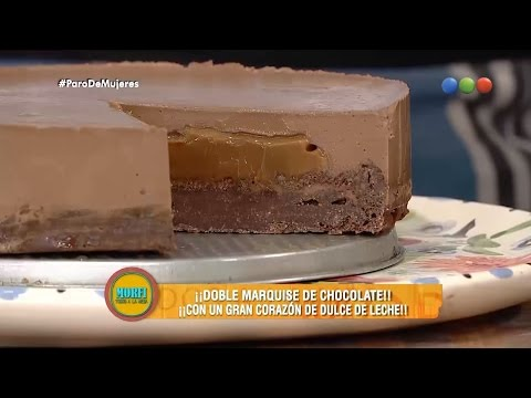 Doble marquise de chocolate - Morfi