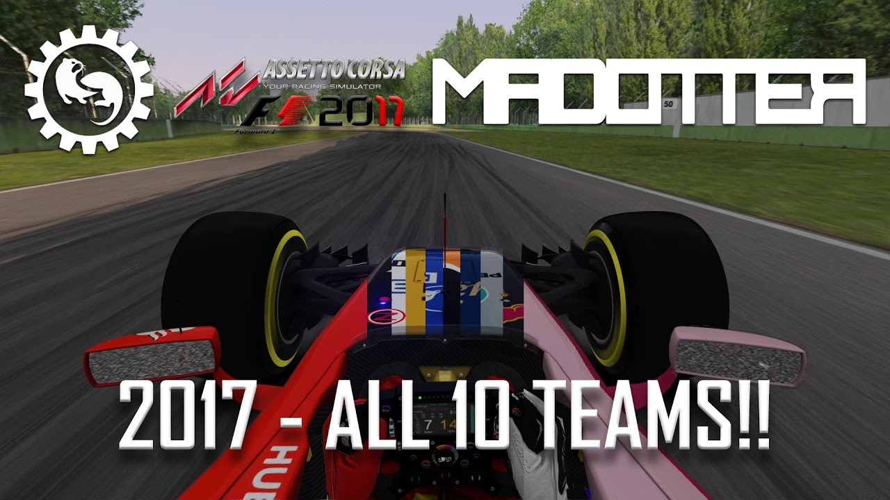 F1 2017 - Formula Hybrid - GAMEPLAY OF ALL 10 TEAMS + Download Link!