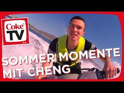 Sommer, Sonne, Cheng und dein #CokeTVMoment