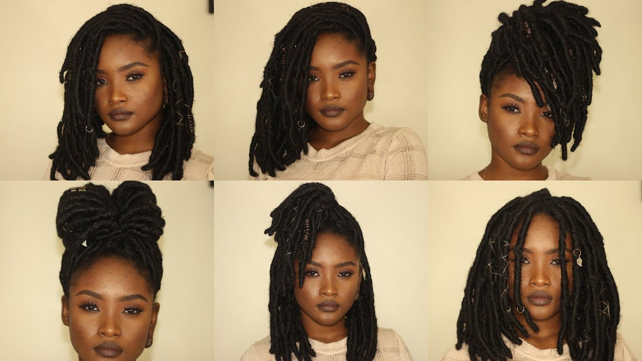 style for black hair 6 faux locs hairstyles kemiixo 5523 | maxresdefault
