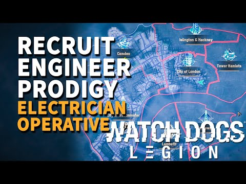 Recruit Engineer Prodigy Electrician Watch Dogs Legion (Operative)