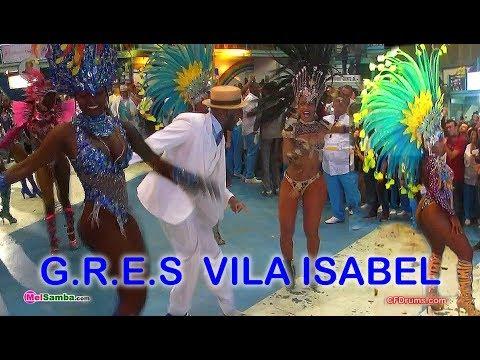 G.R.E.S. VILA ISABEL- BATERIA SWINGUEIRA DE NOEL - SABRINA SATO - IGOR SORRISO - BAIANAS - PASSISTAL