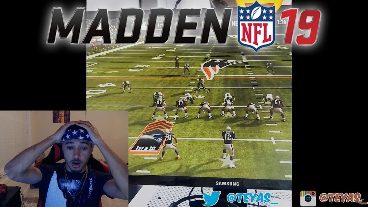 MADDEN 19 REAL GAMEPLAY FOOTAGE!!! WTF IS UP WITH THE MOVEMENT???