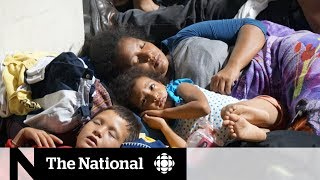 Migrant caravan faces increasing barriers to move out of southern Mexico