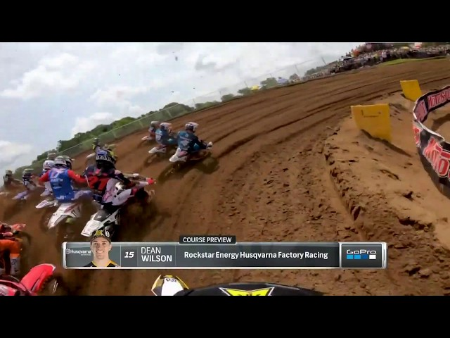 2019 RedBud National - 450 Moto 2 GoPro Course Preview Dean Wilson