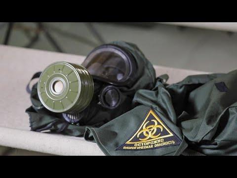 Работа военных медиков в полевом госпитале в Буйнакске
