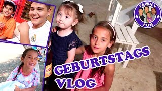 GEBURTSTAGSVORBEREITUNG MILEY   CIHAN GIBT DEUTSCHKURS   Vlog #117 FAMILY FUN
