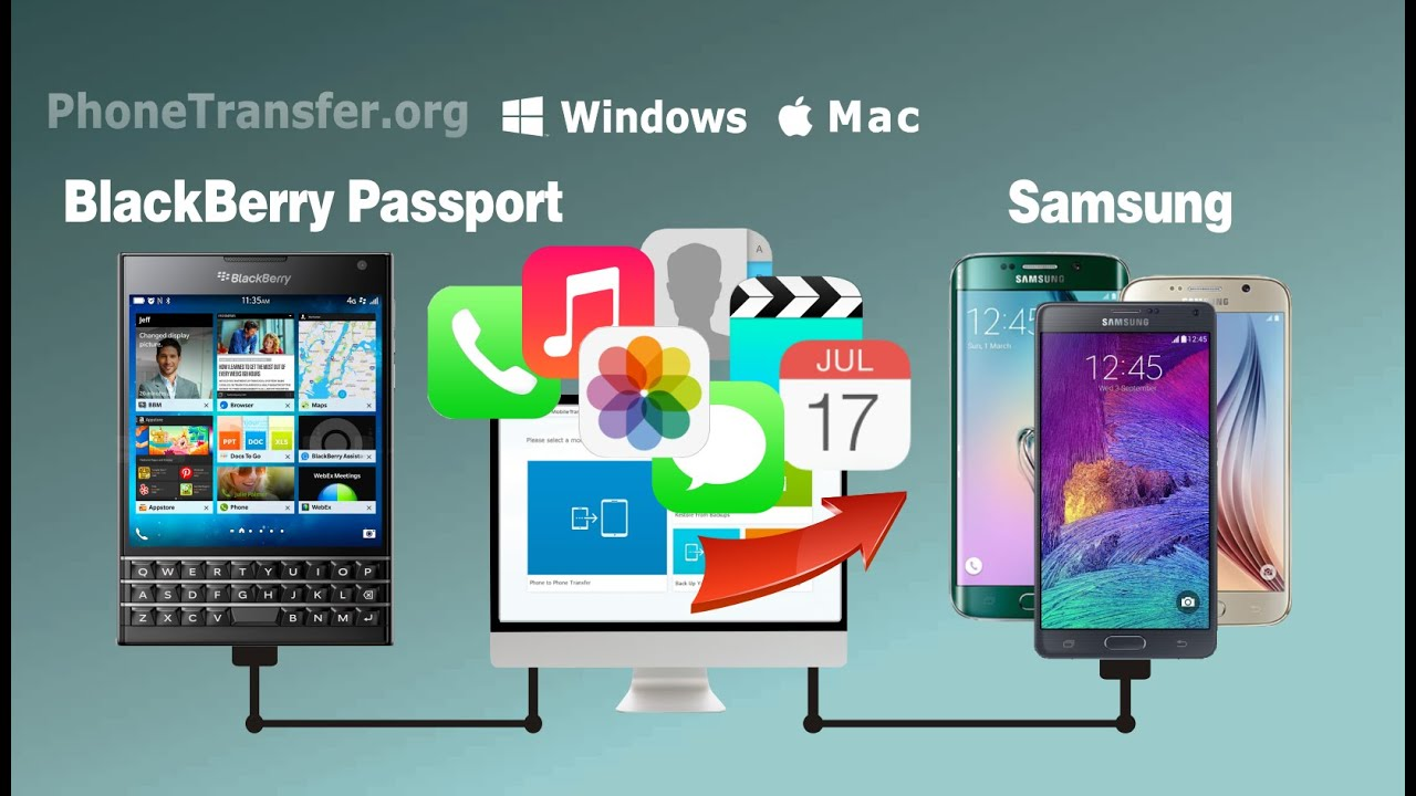 Blackberry Passport Vs Note 4