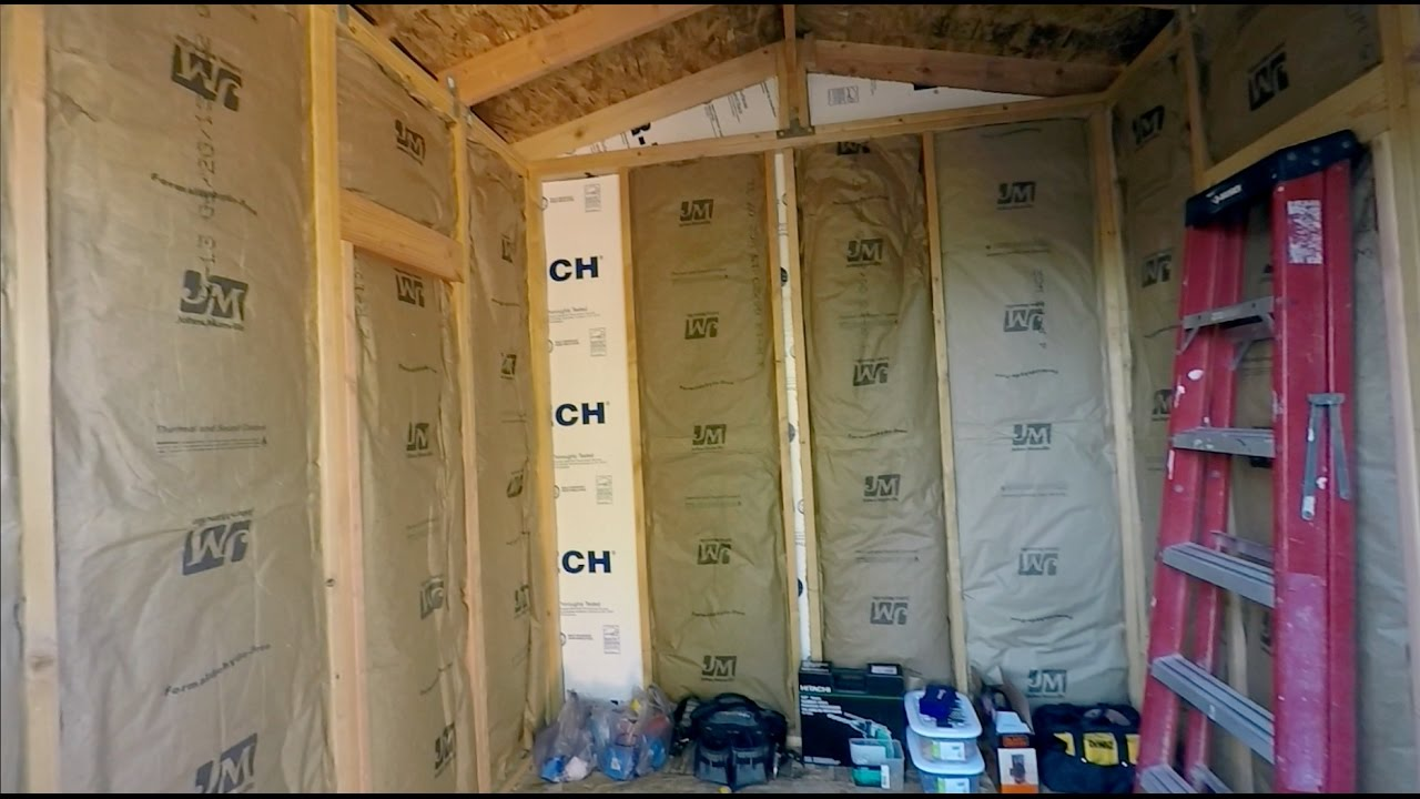 How To Install Insulation On Walls You