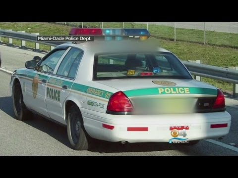 Miami-Dade Police Looking For Stolen Cruiser