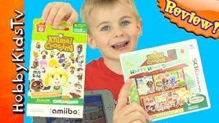 Animal Crossing! Happy Home Designer Review, Nintendo HobbyKidsTV