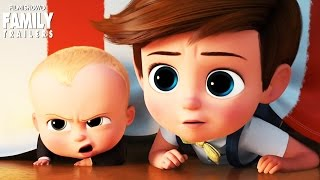THE BOSS BABY | New trailer for the animated family comedy movie