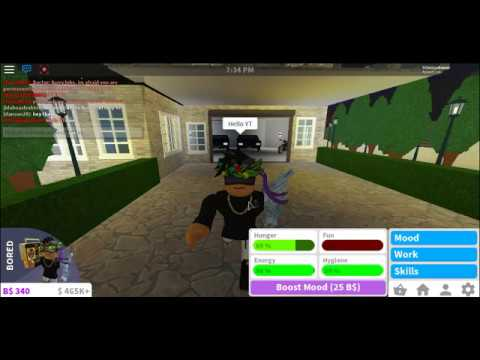 Donating people 100k   welcome to bloxburg   roblox ...