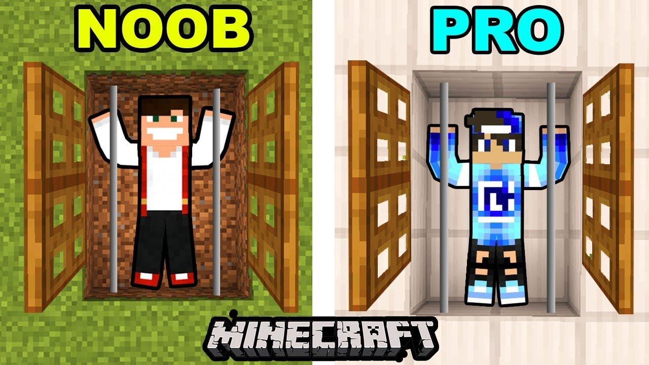 Wiezienie Gplay Vs Wiezienie Laki Minecraft Youtube