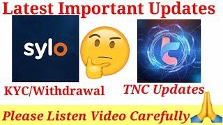 260$ TNC Token Update | 10$ Sylo Token Update LIsted On Kucoin Exchange