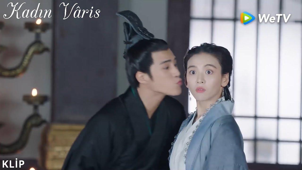 Kadın Vâris 22    Beşinci Prens, Han Shi Yi'yi öptü💗   The Heiress   女世子