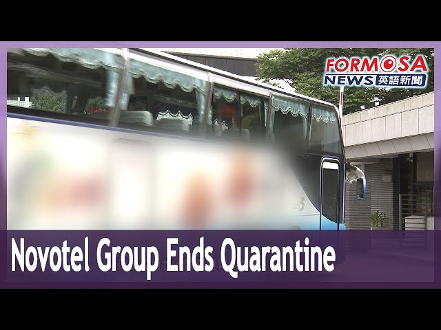 Novotel contact tracing: 412 people complete 14-day quarantine