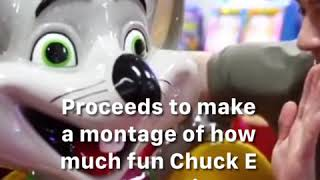 BuzzFeed lying about Chuck E Cheese Pizza