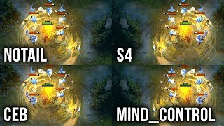 Who is the BEST Earthshaker in the World?! - N0tail vs s4 vs Ceb vs MinD_ContRoL - Dota 2 Gameplay
