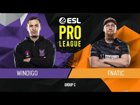 CS:GO - Fnatic vs. Windigo Gaming [Mirage] Map 2 - Group C - ESL Pro League Season 9 Europe