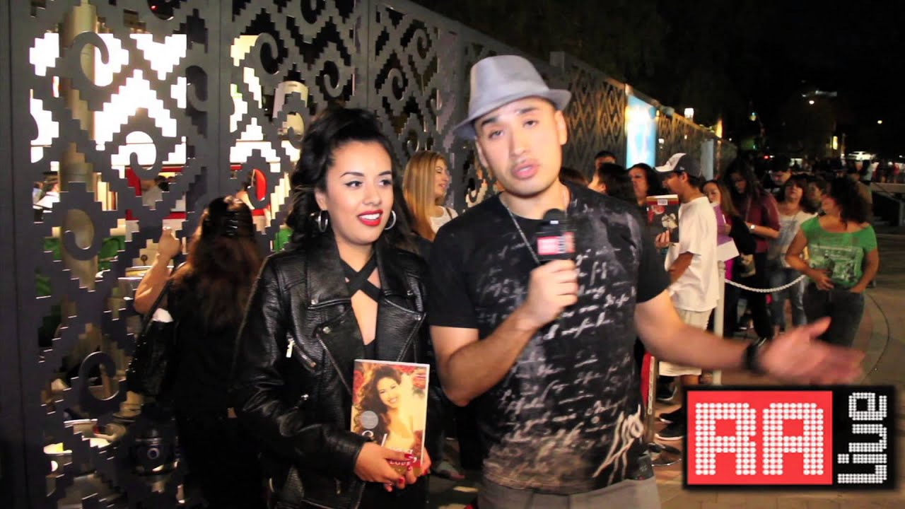 Selena Chris Perez Interview + 'To Selena With Love' Autograph Session ...