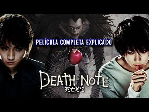 Death Note Pelicula Completa Espanol Latino 2006 Explicado Youtube