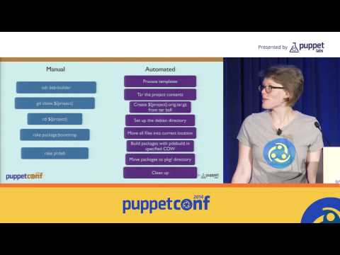 [PuppetConf 2014][Under the Hood] Packaging Software, Puppet Labs Style - Melissa Stone...