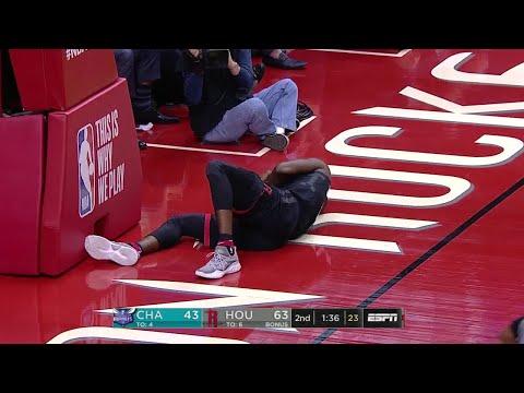 2nd Quarter, One Box Video: Houston Rockets vs. Charlotte Hornets