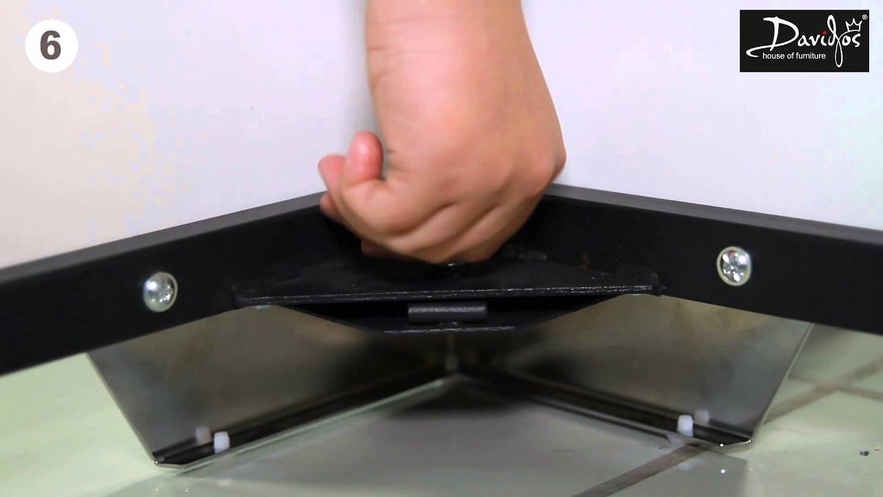 Как собрать кровать Novelty с газовым подъемным механизмом - YouTube